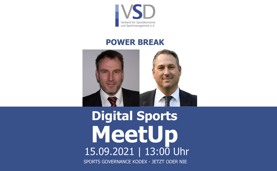 """VSD Meetup on """"Sports activities Governance Code – Now or By no means"""""""